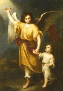 ángel De La Guarda De Murillo Archisevilla Siempre Adelante