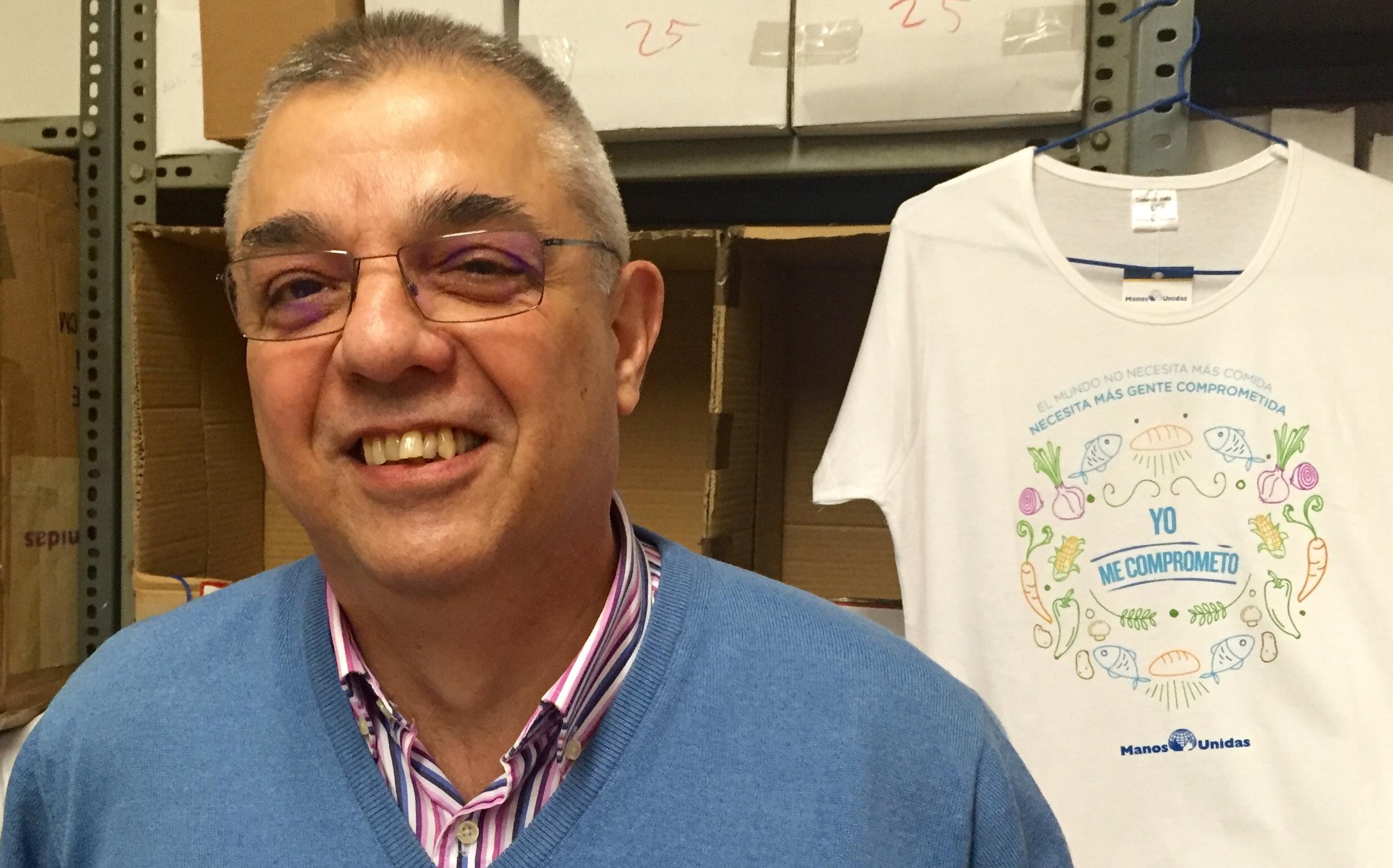 Fernando Gutiérrez.El milagro de Manos Unidas