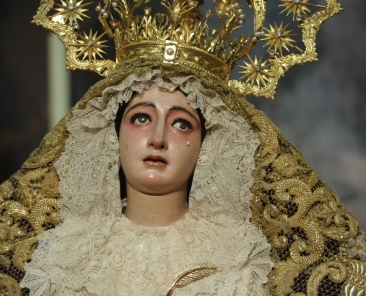 Madre de Dios de la Palma- hermandad del Cristo de Burgos