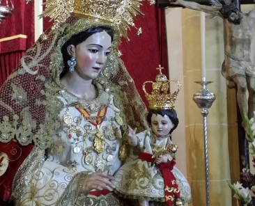 Ntra. Sra. de la Granada, patrona de Guillena (Sevilla)