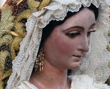 Virgen del Rosario. Hermandad del Rosario, de Mairena del Aljarafe (Sevilla)