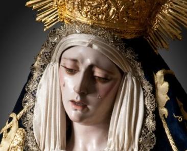 Ntra. Sra. de Desconsuelo y Visitación de la Hermandad de Pasión y Muerte