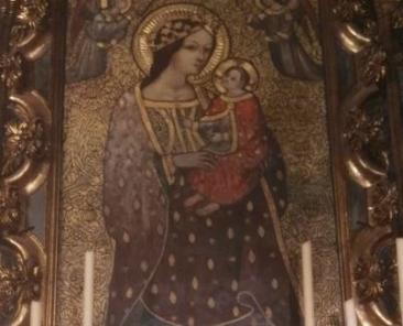 Nuestra Señora de Roca Amador. Hermandad de la Soledad de San Lorenzo