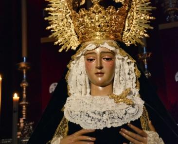 Ntra. Sra. de la Soledad. Parroq. Magdalena. Dos Hermanas