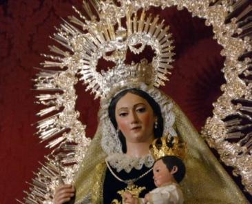 Virgen del Carmen. Parroquia de la Oliva, Salteras.