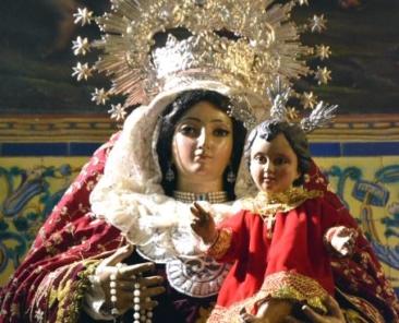 Nuestra Señora del Rosario, Parroquia de San Vicente Mártir, Tocina