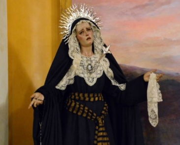 María Santísima de la Salud, Parroquia de Santa María y San Miguel, Alcalá de Guadaíra