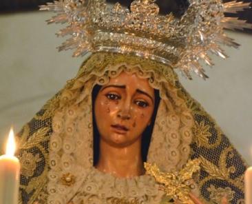 Madre de Dios de los Ángeles, Parroquia de Santa María y San Miguel, Alcalá de Guadaíra