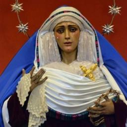 María Santísima del Dulce Nombre en sus Dolores y Compasión. Parroquia del Dulce Nombre. Sevilla.
