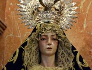 Nuestra Señora de la Piedad. Parroquia de Nuestra Señora de la Concepción. Castilleja de la Cuesta.