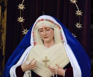 Nuestra Señora de los Dolores y en Soledad. Iglesia de San Francisco. Utrera