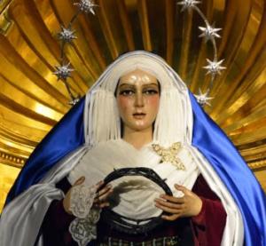 Nuestra Señora de la Esperanza. Parroquia de San Sebastián. Alcalá de Guadaíra