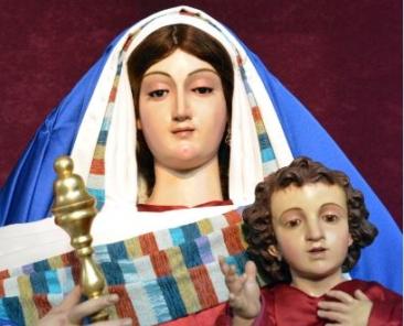 Nuestra Señora del Rosario. Parroquia de Nuestra Señora del Rosario. Sevilla.