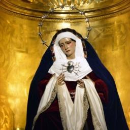 María Santísima de los Dolores. Parroquia de San Sebastián. Alcalá de Guadaíra.