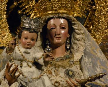.Nuestra Señora del Rosario. Parroquia de Santa Catalina (Sevilla)