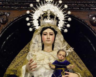 María Santísima del Rosario. Parroquia de Santa María Magdalena. Dos Hermanas
