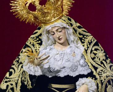 Nuestra Señora de los Dolores en su Soledad. Parroquia de Nuestra Señora de las Nieves ( Olivares)