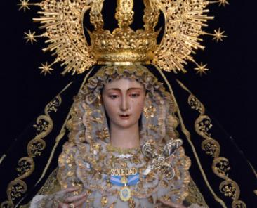 María Santísima de la Soledad. Capilla de la Soledad. Benacazón