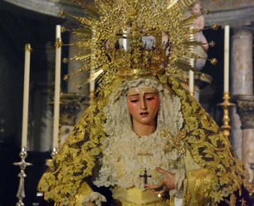 Nuestra Señora de los Dolores. Parroquia de Santa María Magdalena (Arahal)
