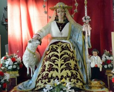 Divina Pastora de las Almas. Parroquia del Buen Pastor y San Juan de la Cruz. Sevilla