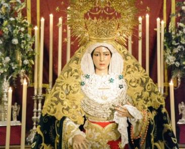 Nuestra Señora de la Esperanza. Parroquia de Santiago el Mayor. Utrera