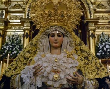 Nuestra Señora de la Soledad Coronada. Ermita de la Soledad. Coria del Río