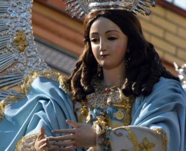 Pureza de María. Capilla de la Soledad. Benacazón