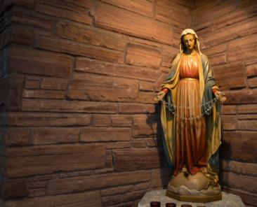 Virgen María, Virgen Castísima